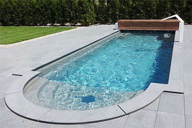 Compass Ceramic Pool
