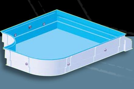 Gfk elementschwimmbecken schwimmbeckensysteme for Pool gfk becken