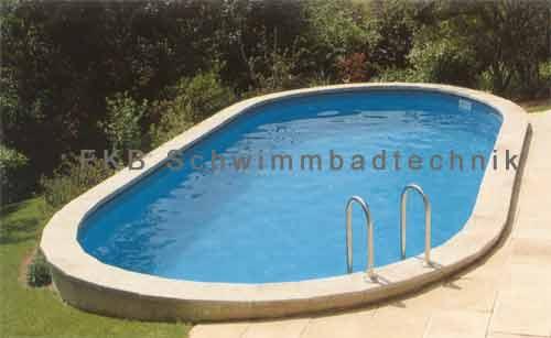 Schwimmbecken schwimmbad fkb schwimmbadtechnik for Stahlwandbecken achtform