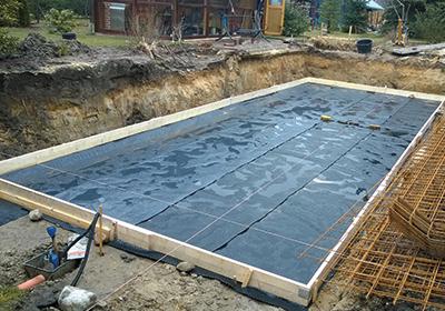 Bodenplatte Schwimmbadbau Betonbecken Schwimmbecken Infoportal
