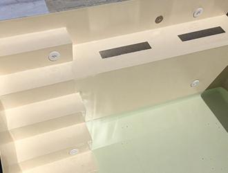 Turbo Folienauskleidung | Schwimmbadbau Betonbecken | Schwimmbecken IH55