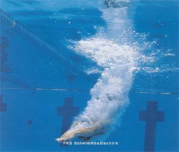 sprungbrett schwimmbad