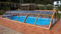 Pool-Überdachung Premium A / B / C