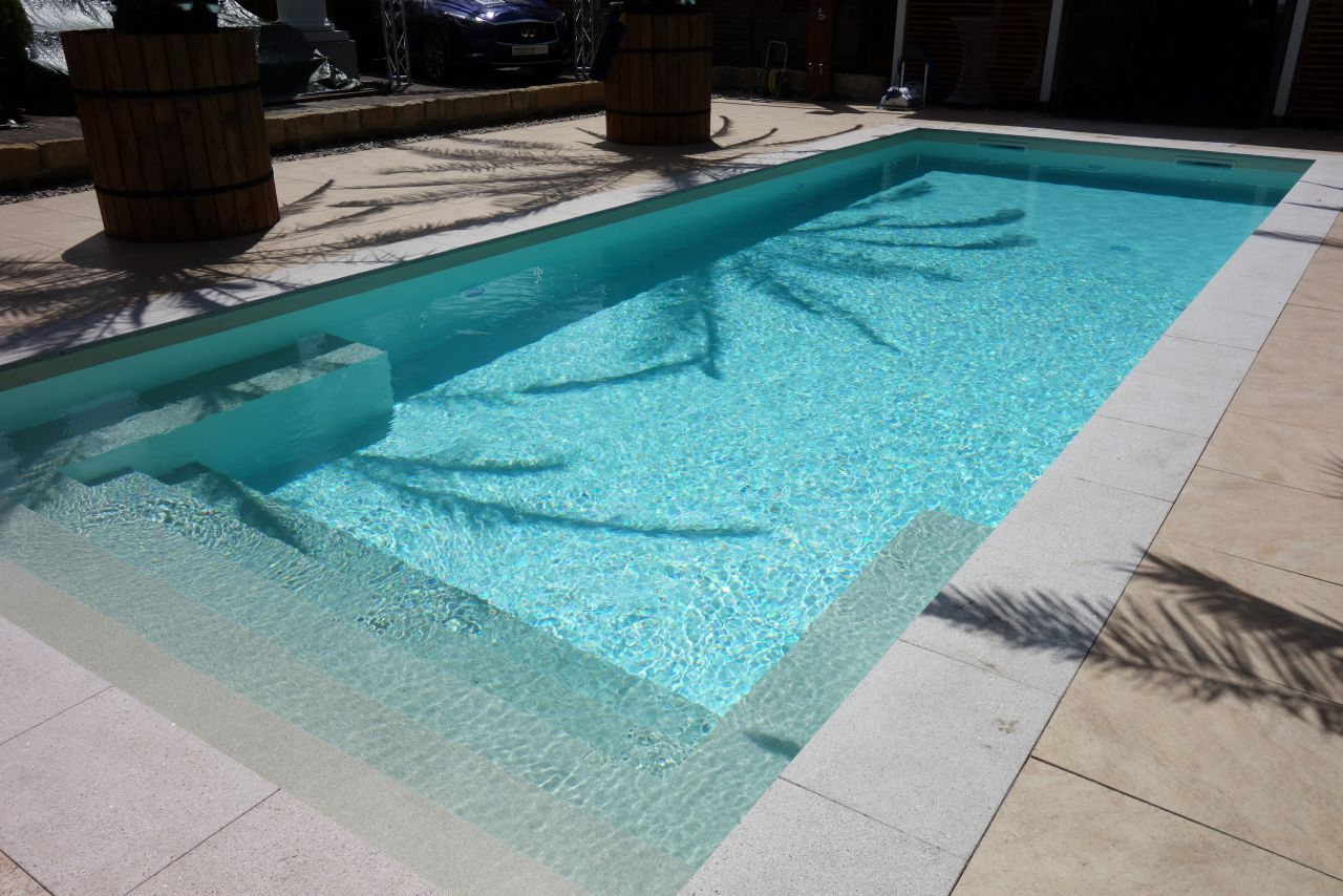 Pool podest selber bauen affordable whirlpool umrandung selber bauen whirlpool selber bauen - Pool rutsche selber bauen ...