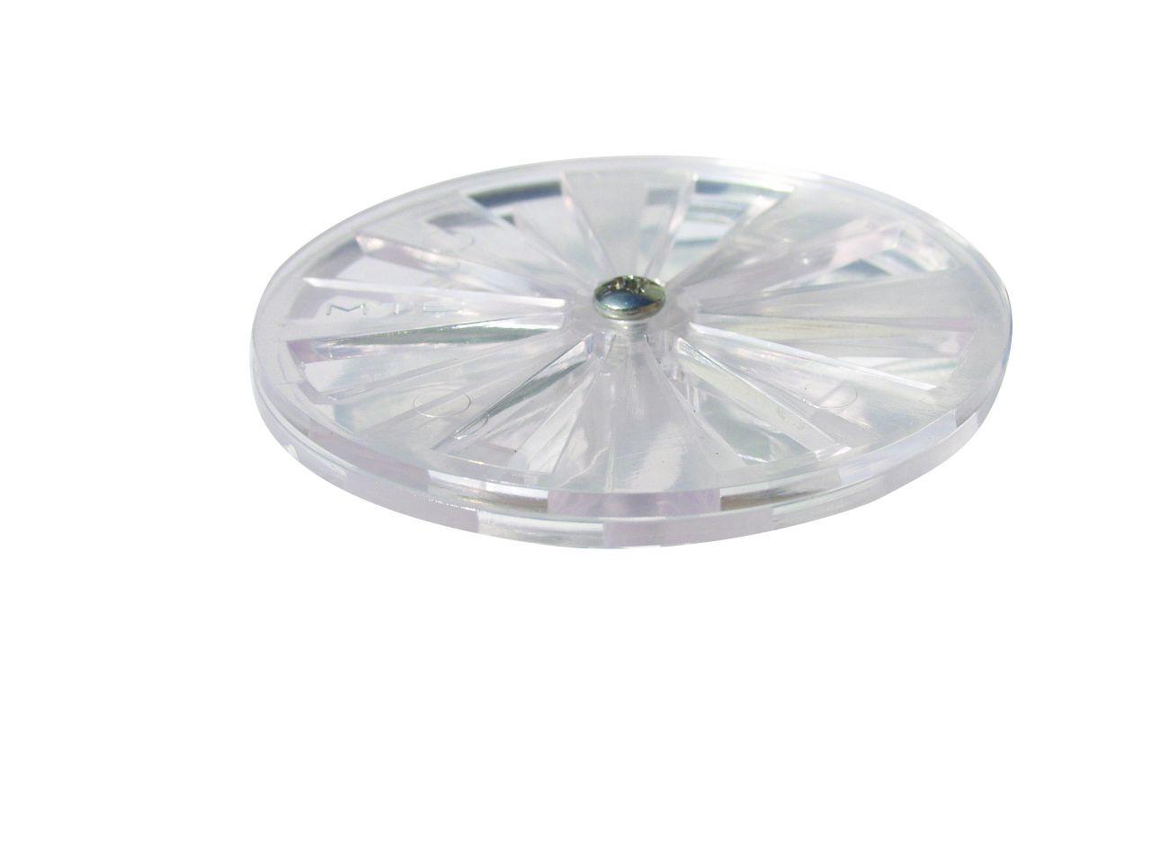MTS UNISET Verstellbare Kulisse aus Acryl glasklar
