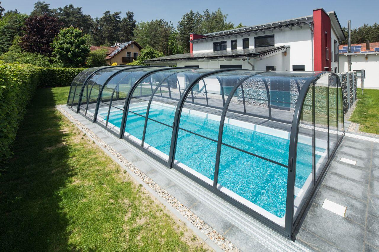 Aquacomet Harmonie Poolüberdachung