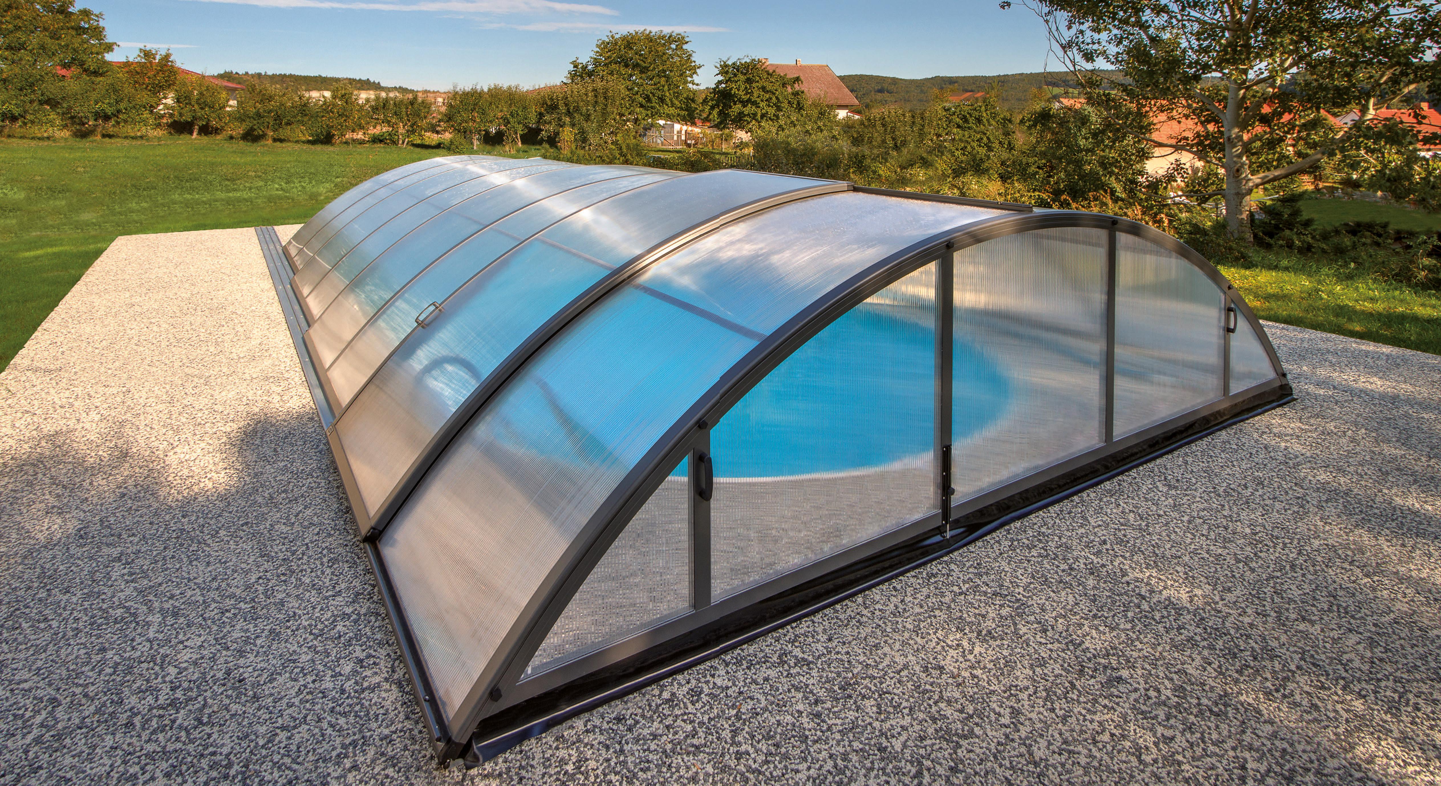 schwimmbad berdachung klasik a fkb schwimmbadtechnik. Black Bedroom Furniture Sets. Home Design Ideas
