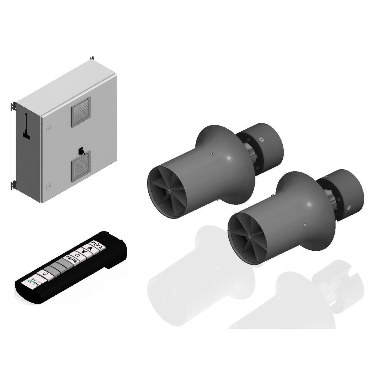 Hydrostar BGA Double Komponenten