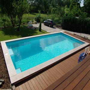 Schwimmbadfolie Set 4