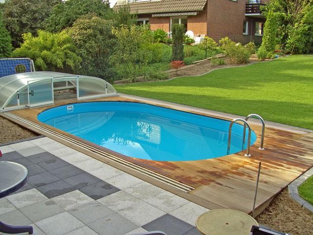 Stahlwandbecken ovalform 3 5x5 85x1 5m fkb schwimmbadtechnik for Stahlwandbecken steinoptik