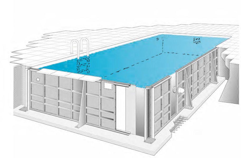 Segmentbecken Mth Sunstar Pool Fkb Schwimmbadtechnik