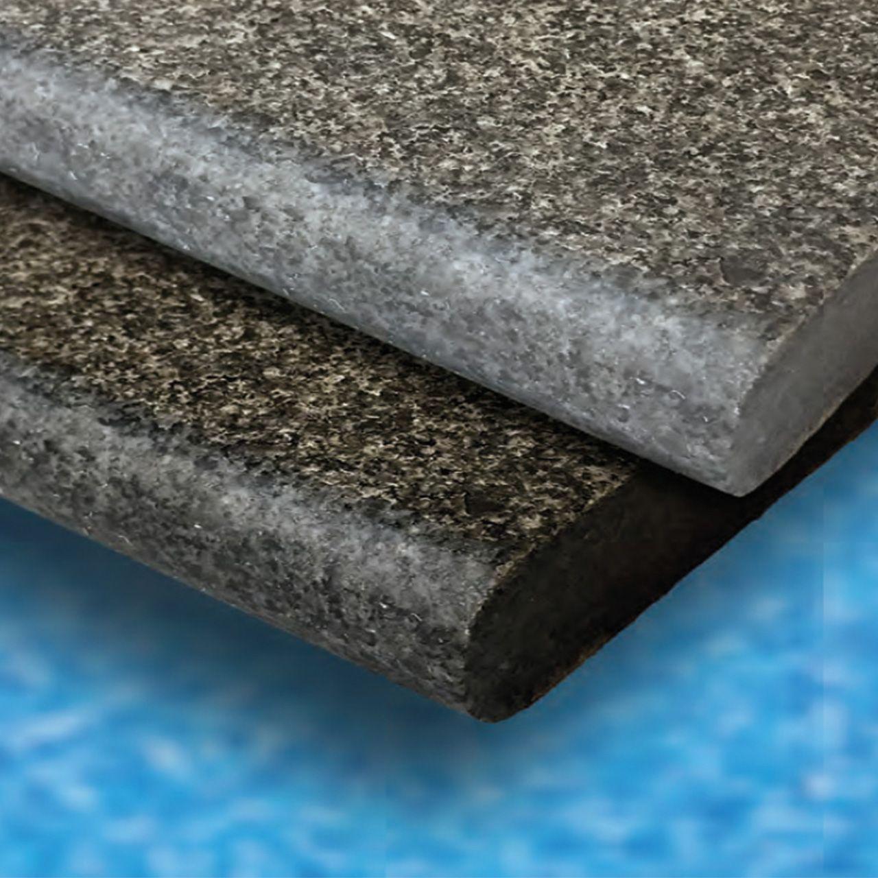 Beckenrandstein Granit Geflammt Und Geburstet Fkb Schwimmbadtechnik