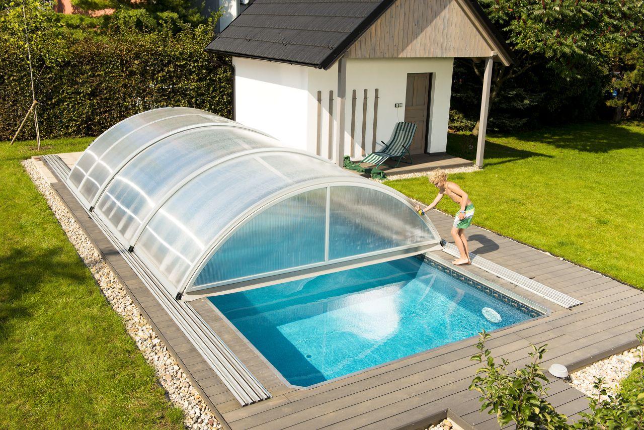 Pool-Schiebehalle Basic 4