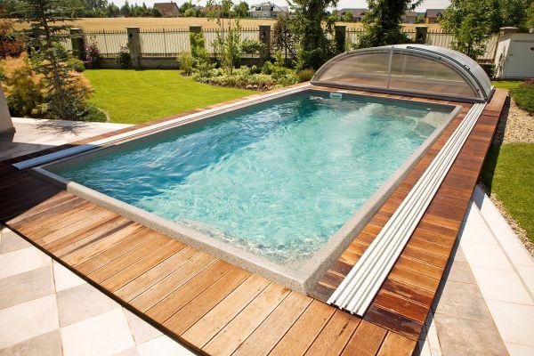 Pool-Überdachung Dresden 434x642x96cm