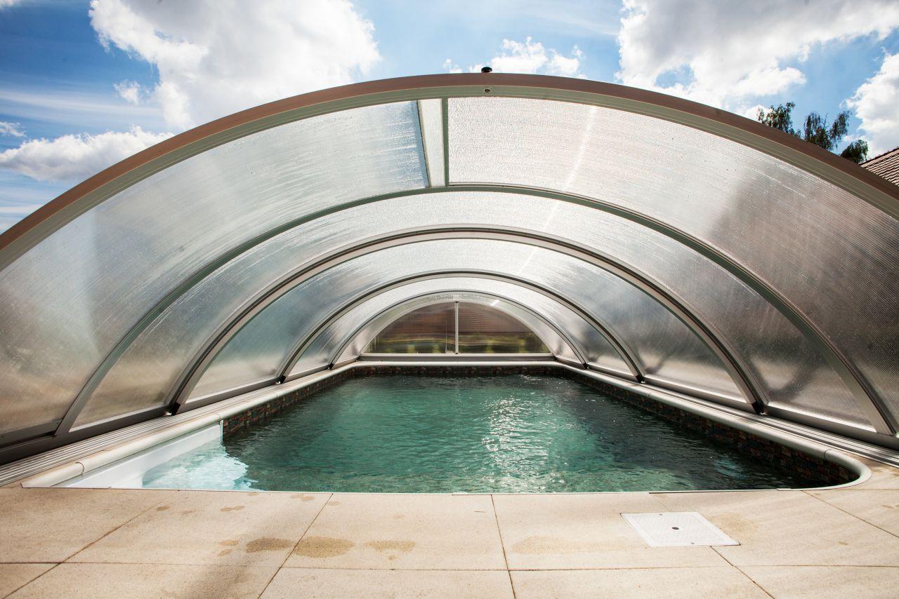 Schwimmbad-Überdachung Basic 5