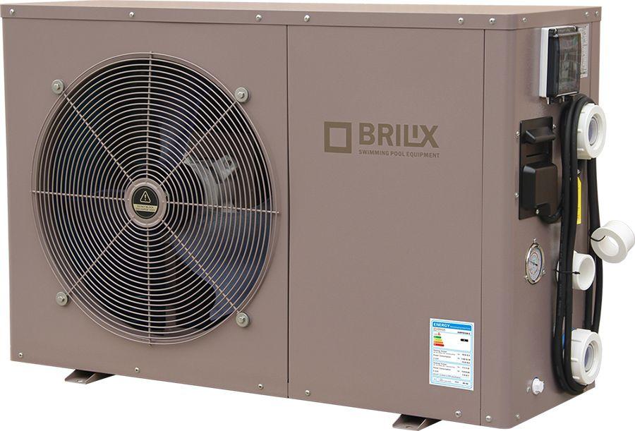 Brilix inverBOOST XHPFD Inverter Pool-Wärmepumpe