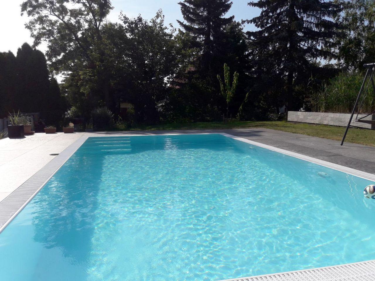 Albixon G2 Polypropylen Pool 3,5x7x1,50m weiß mit Ecktreppe