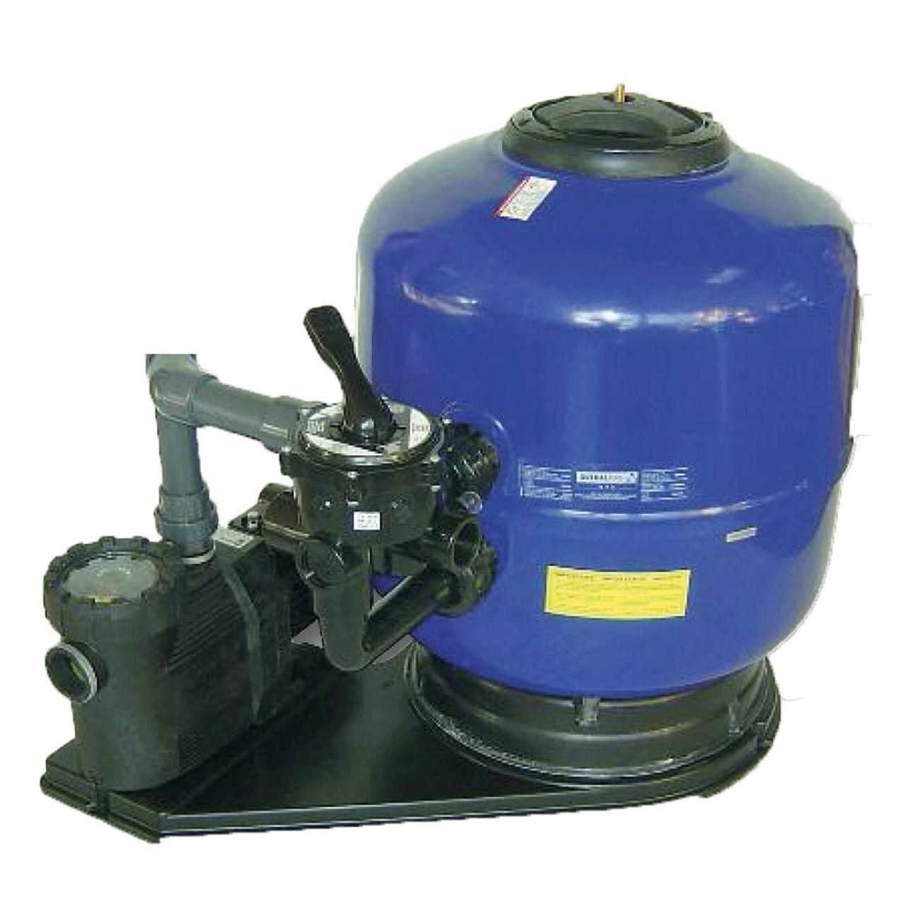 Schwimmbad filteranlage comfort 650 f r becken bis 75 m for Schwimmbad filteranlage