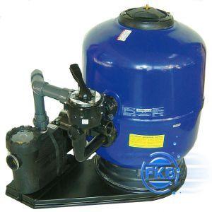 Schwimmbad filteranlage comfort 500 f r becken bis 50 m for Schwimmbad filteranlage