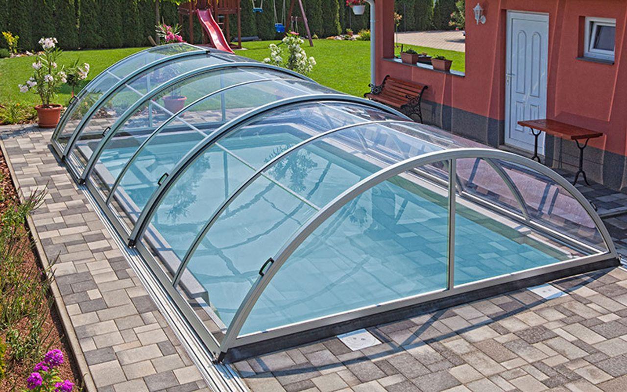 Aquacomet Zenith Standard Schwimmbad Schiebehalle