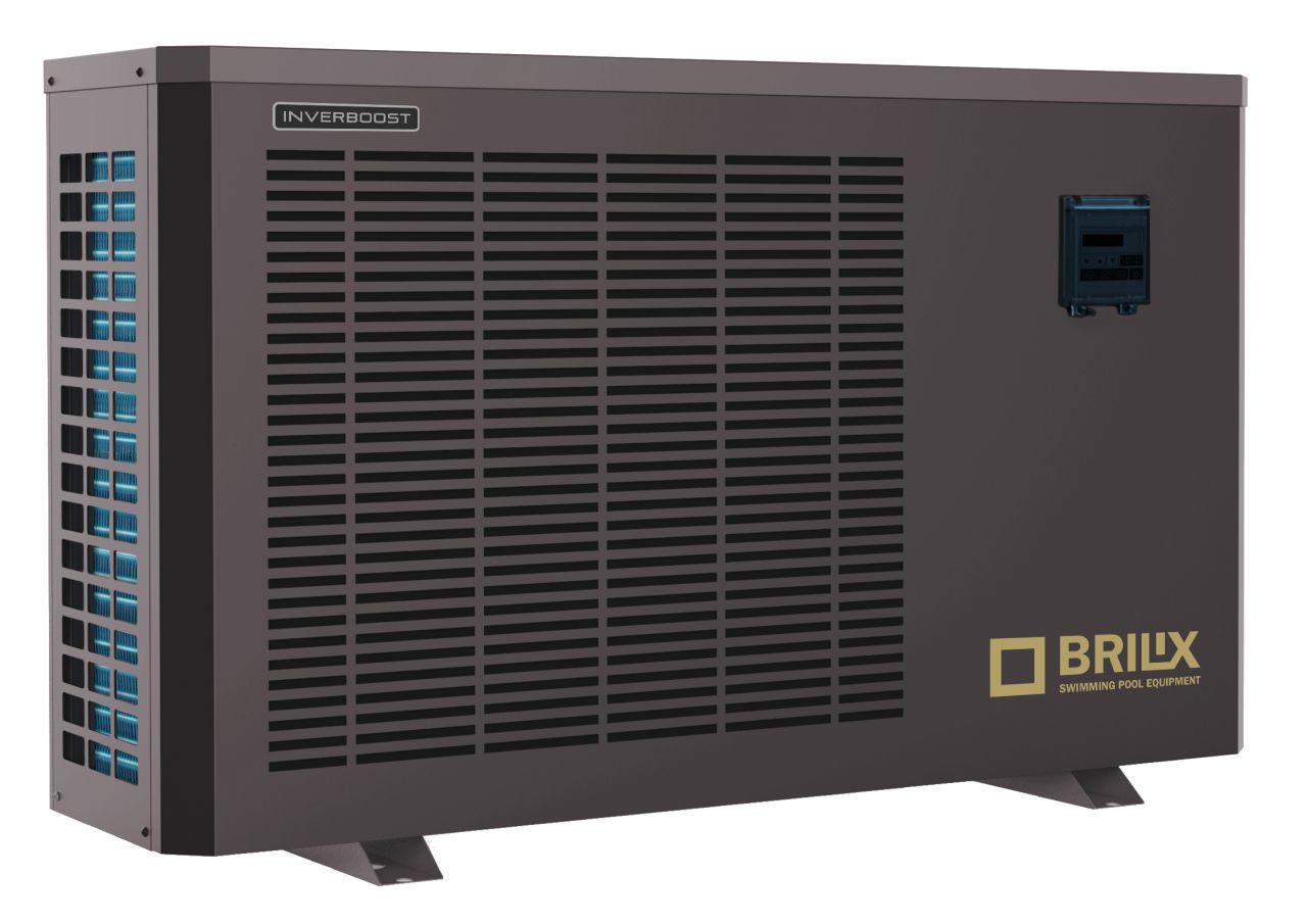 Brilix INVERBOOST C Inverter Pool-Wärmepumpe