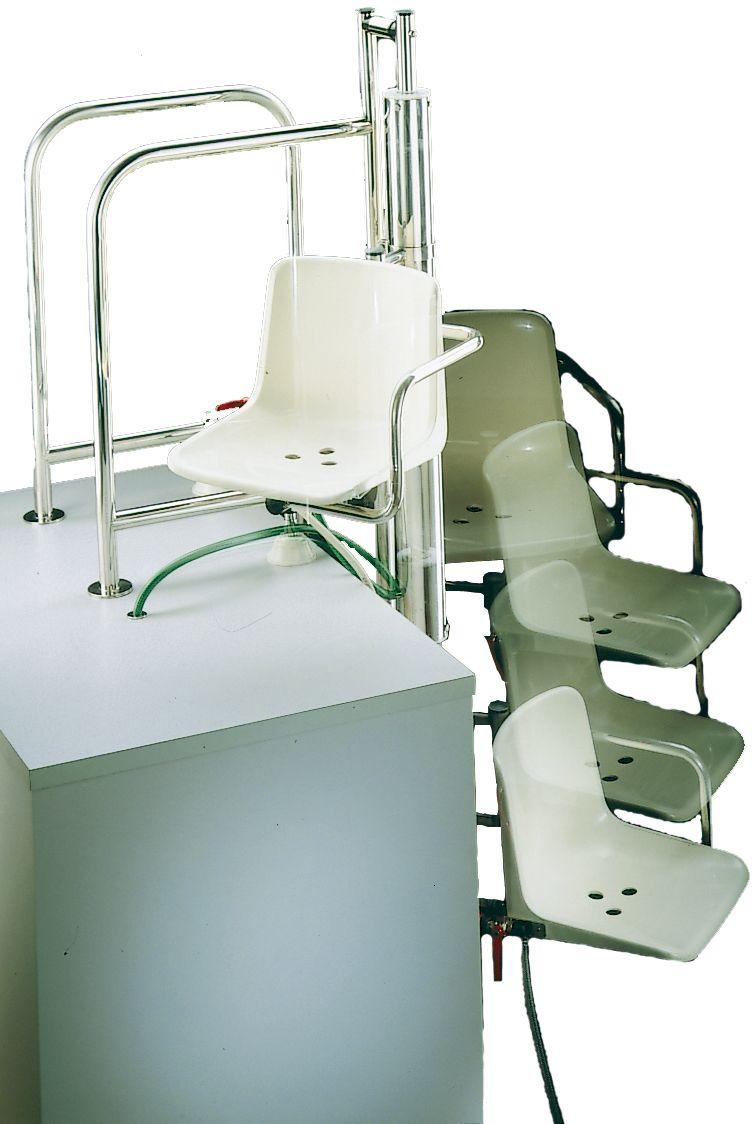 hebesitz f r behinderte hydraulisch 1000 mm fkb schwimmbadtechnik. Black Bedroom Furniture Sets. Home Design Ideas
