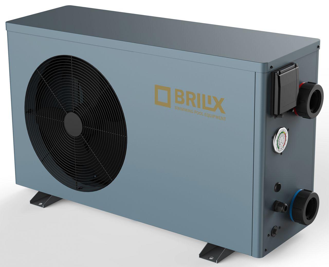 Brilix XHPFDPLUS Poolheizung Wärmepumpe