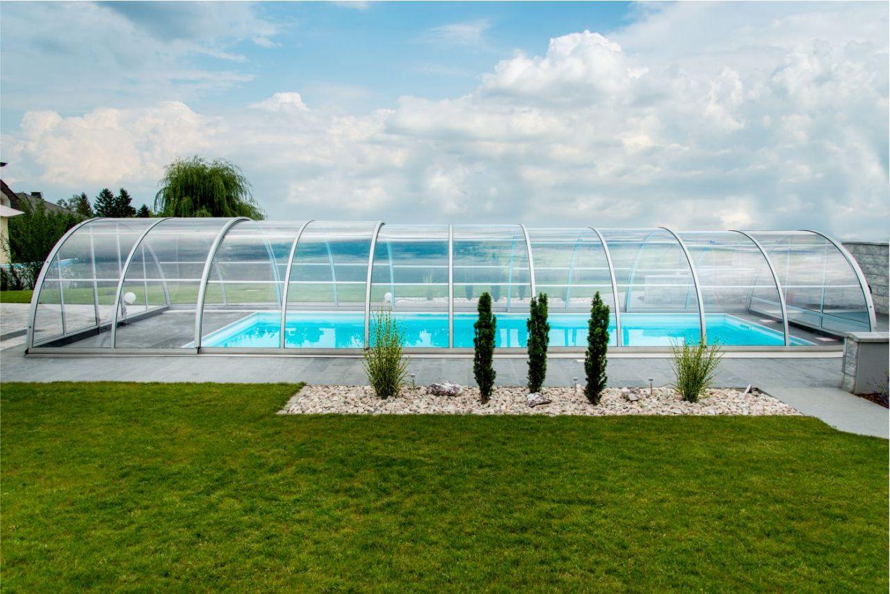 Schwimmbad Überdachung Praktik