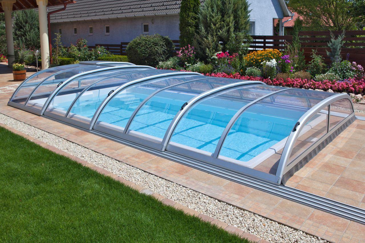 Aquacomet Star Pool-Überdachung