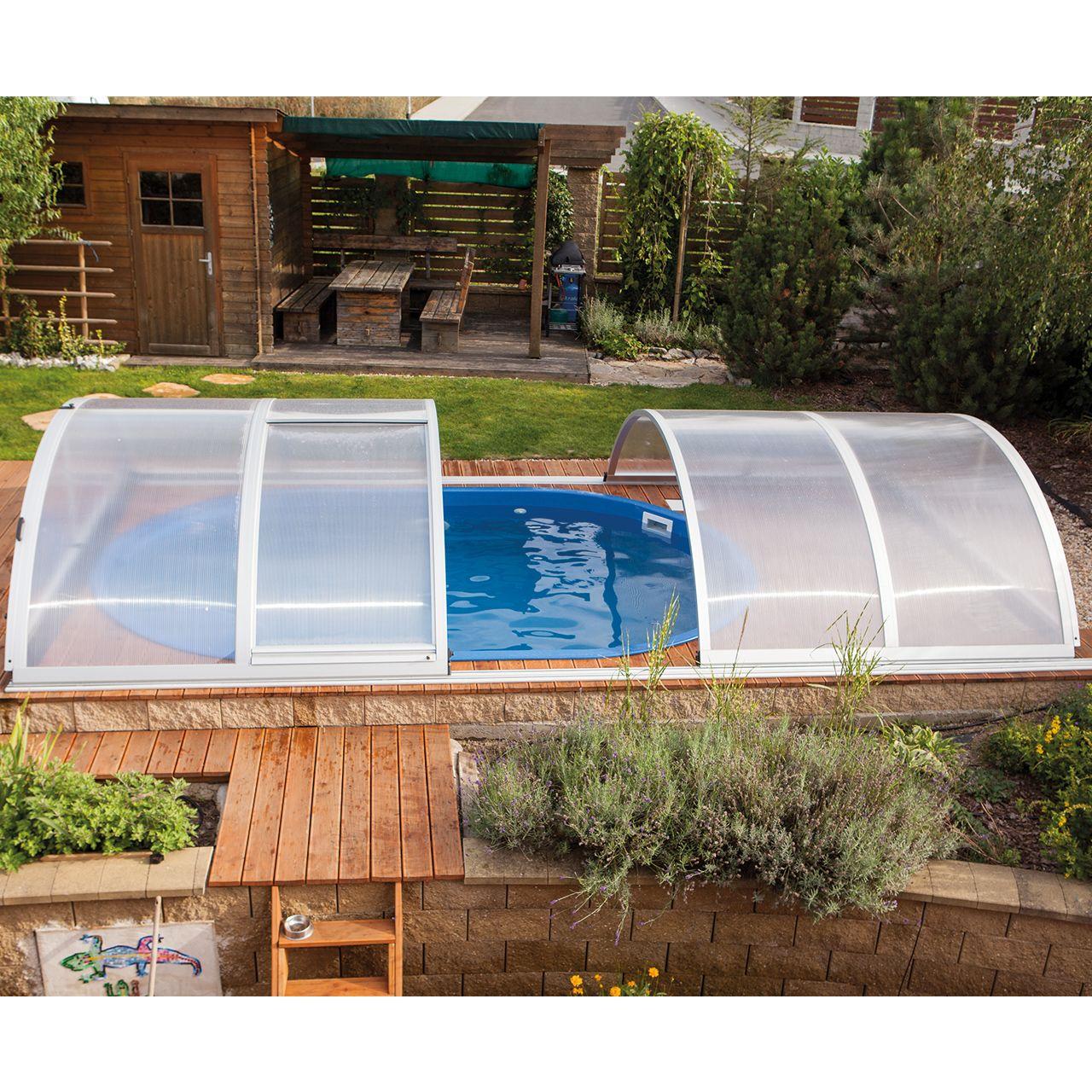 Pool-Überdachung Basic 2